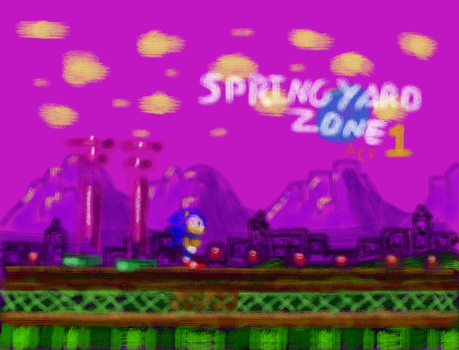 Spring Yard Zone: A Brushed-On Experience by SplashStone