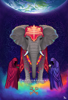 The Hierophant by SylviaRitter