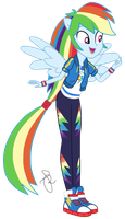 EQG Series - Happy Rainbow Dash by ilaria122