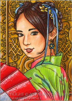 Independence - ACEO by MJWilliam