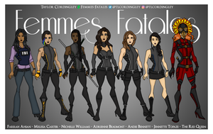 The Women of the Femmes Fatales by Femmes-Fatales