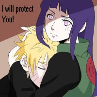 I will protect you! by SayakoArt