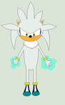 Silver the Hedgehog by roxan1930