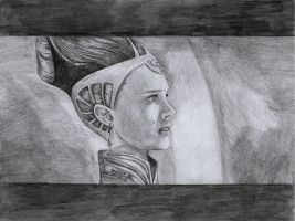 Old Amidala drawing 2008 by AngelinaBenedetti