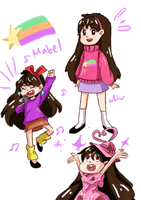 Mabel doodles by LovableQueen