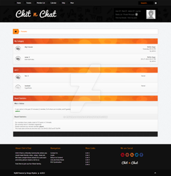 ChitnChat MyBB Forum Theme by enviraphani