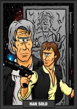 Han Solo by RSCOTTILLUSTRATIONS