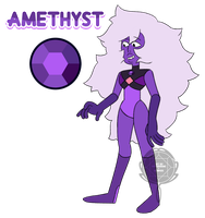 Amethyst by watergems