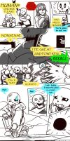 Failed Genocide! Undertale Gauntlet Throne Pt 1 by KuraiDraws