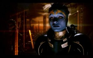 Mass Effect 2 Samara by AgataFoxxx