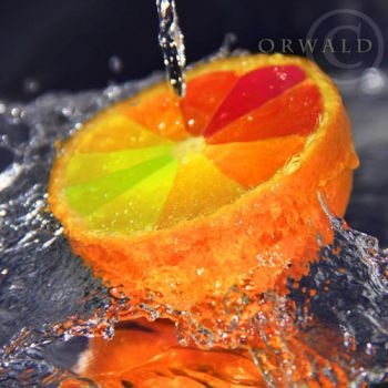 strange orange by Orwald