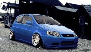 Chevy Aveo Stance Simply by ARTriviant