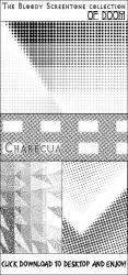 Screentones Stock by chare-stock