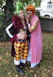 Nami Alabasta with Barto Cosplay One Piece by Lucy-chan90