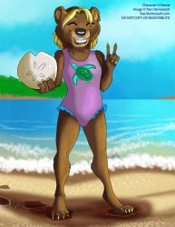 [Commission] Beach Money!  Awesome! by Ulario
