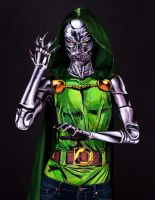 Doctor Doom Bodypaint by KayPikeFashion