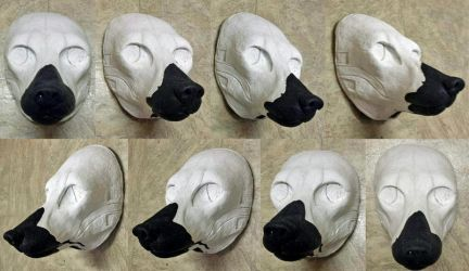 2017 fox blank by Crystumes