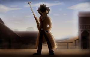 DST: Wild West by Aileen-Rose