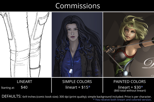 Commission Info by DianaHold