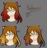 MYSTIC MESSENGER: Jaehee Kang / Haloween / by united-drawer