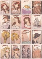 TOPPS indiana jones pt.3 by katiecandraw