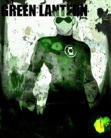 THE GREEN LANTERN : JUSTICE LEAGUE by Ynnck