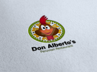 Don Alberto's Resturant Logo by ElsharQawy