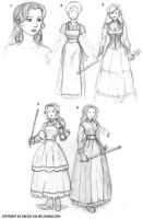 Faith's Possible Clothes by ultorgabrihel