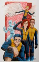 Uncanny X-Men by KidNotorious