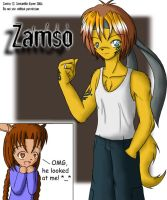 Zamso - Trade with Sam by artisticTaurean