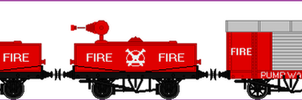 Fire Train by TheblueV3