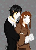 Sebastian and Zara Request for HinataFox790 by InLoveWithYaoi