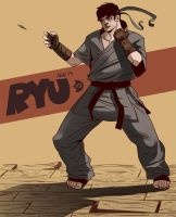 Young Street Fighters - Ryu by Dynamaito