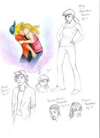 Hey Arnold -+sketchdump+- by Eight-Days-A-Week