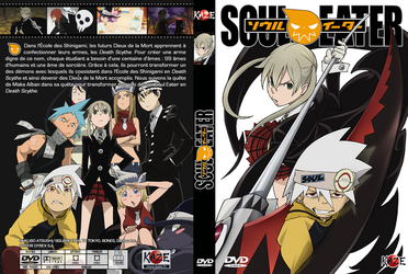 Soul Eater French DVD cover by Toulal