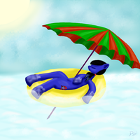 summer time by PanHaukatze