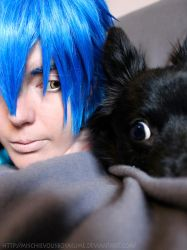 Ren and Aoba - DRAMAtical Murder cosplay by MischAxel