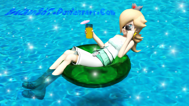 Poolside Rosalina by BradMan267