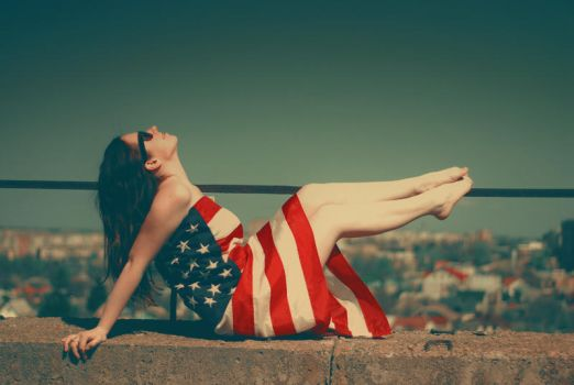 americal girl by formylittleprince