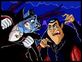 Battle of the Doting Dracula Dads by mightyfilm