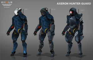EXIMIUS: Axeron Hunter Guard by FutureFavorite