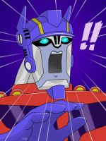 Animated Optimus Prime 5 by J-666