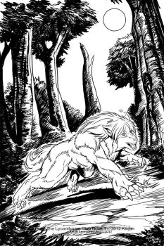 Lycanthrope Club Book I Teaser 2 Inks by alfaluna
