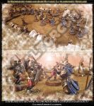 Figurine-Staging-The Betrayal of Isengard 7 by Valtorgun-le-Grand