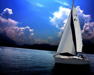 sailboat by photog-road
