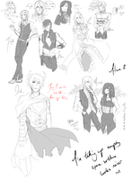 sketch dump jesu s by Mishii-C