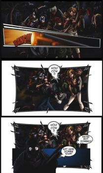Monster Madness Game Comic Page5 by megabluex
