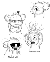 Expression practice by FrostynoTen