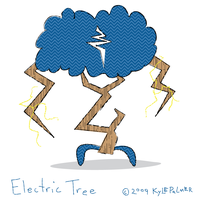 electric tree by ynthamy
