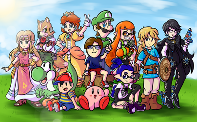 Commish: A Smash-ing Crew! by BoxBird